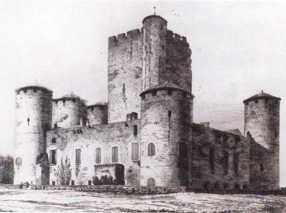Pierre joubert et l 39 histoire bob morane - Dessin chateau moyen age ...